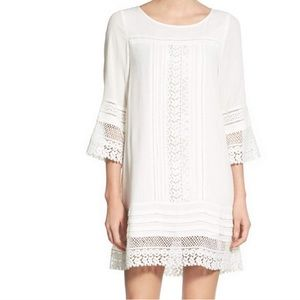 Sanctuary White Crochet Lace Boho Dress